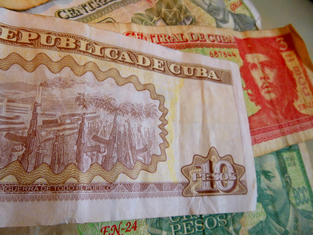Cuban Peso Travel Che